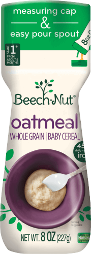 oatmeal cereal canister