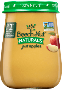 naturals just apples jar