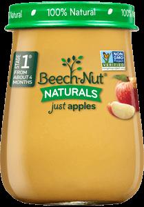 naturals just apples jar
