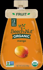 organic mango pouch