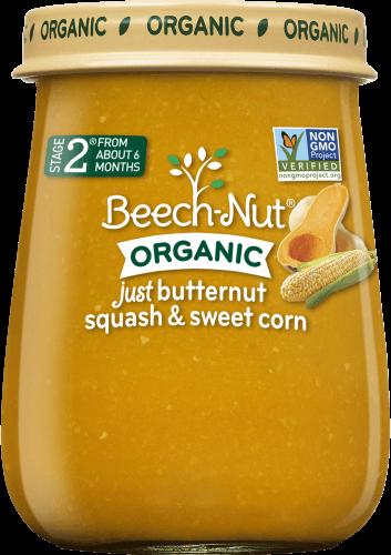 organic just butternut squash & sweet corn jar