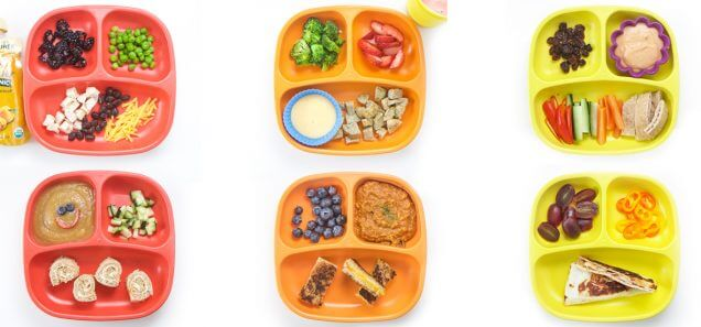 6 Healthy Toddler Lunches