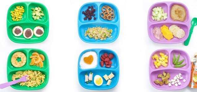 5 More Healthy Toddler Lunches
