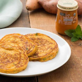 Anytime Sweet Potato Pancakes