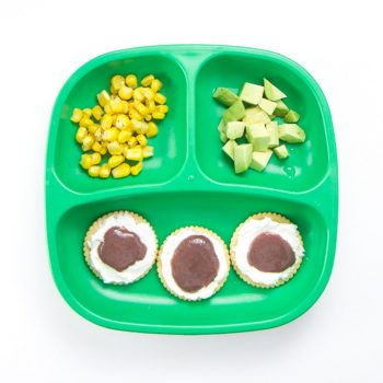 Party Plate Toddler Meal