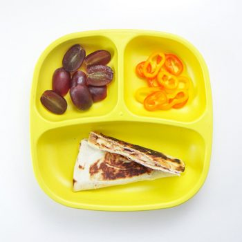 PB&J Quesadilla Toddler Meal