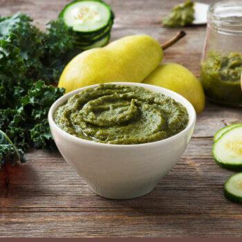 Pear, Kale & Cucumber Purée
