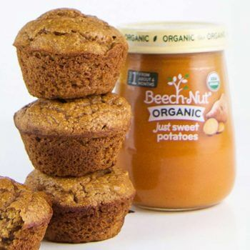 Spiced Sweet Potato Mini Muffins