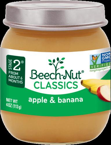 classics apple & banana jar