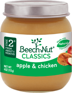 classics apple & chicken jar