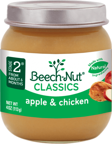 classics apple & chicken jar