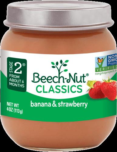 classics banana & strawberry jar