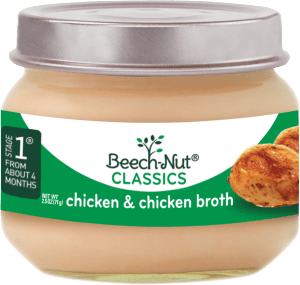 classics chicken & chicken broth jar