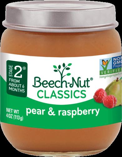 classics pear & raspberry jar