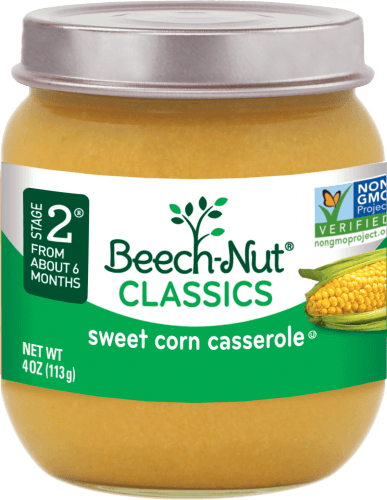 classics sweet corn casserole jar