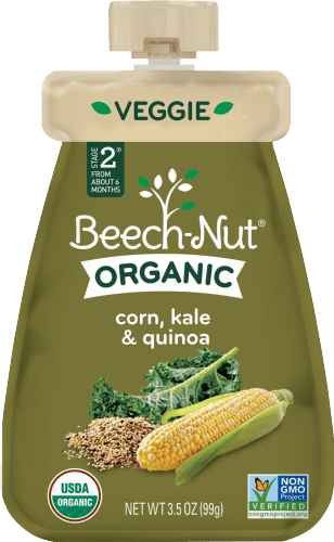 organic corn, kale & quinoa