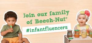 Join the Beech-Nut Infantfluencers