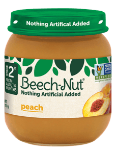 Beech-Nut® peach jar