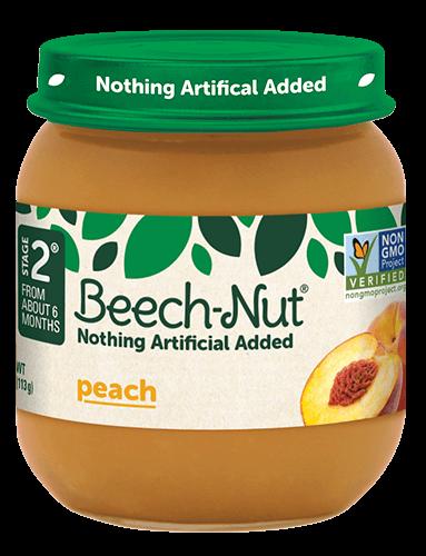 Beech-Nut® peach jar
