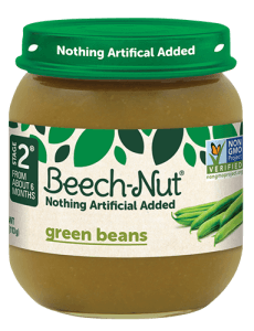 Beech-Nut® green beans jar
