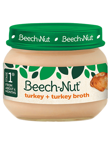 Beech-Nut® turkey + turkey broth jar