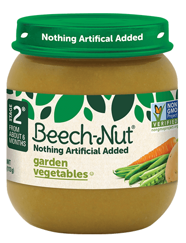 Beech-Nut® garden vegetables jar