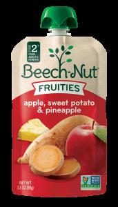 apple, sweet potato & pineapple Fruities pouch