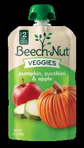 pumpkin, zucchini & apple Veggies pouch