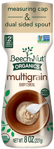 organics multigrain cereal canister