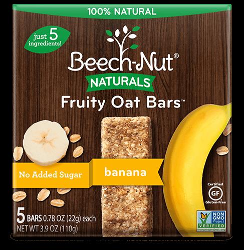 Naturals banana Fruity Oat Bars