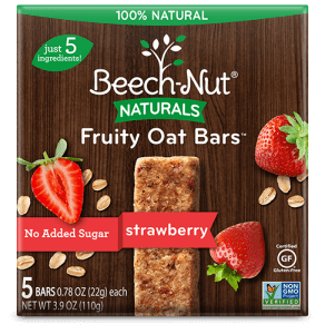 Beech-Nut Naturals Strawberry Fruity Oat Bars 5 Ct