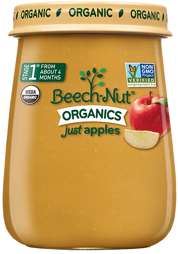 Beech Nut 174 Organic Just Prunes Stage 1 Baby Food