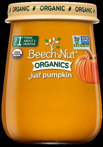 organics just pumpkin jar