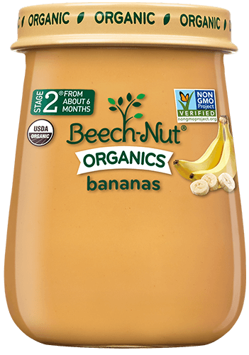 organics bananas jar
