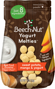 sweet potato, mango & yogurt melties