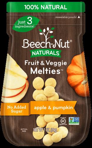 Naturals apple & pumpkin Fruit & Veggie Melties