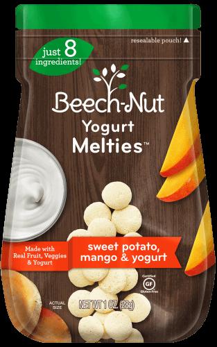 sweet potato, mango & yogurt Melties