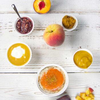 5 Easy Summer Peach Purée Pairings