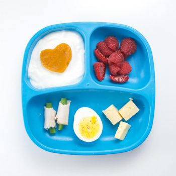 Deconstructed Cobb Salad Toddler Meal