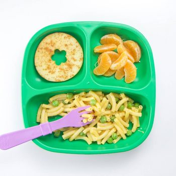 Pasta & Peas Toddler Meal