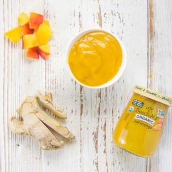 Peach Mango Ginger Purée