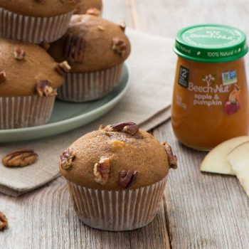 Spiced Apple & Pumpkin Muffins