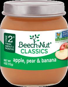 classics apple, pear & banana jar