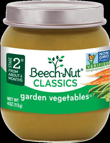 classics garden vegetables jar