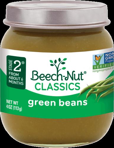 classics green beans jar