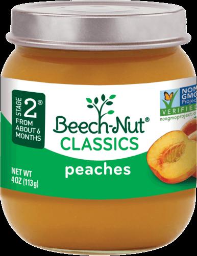 classics peaches jar