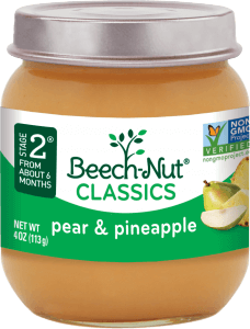 classics pear & pineapple jar