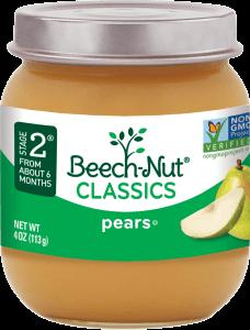 classics pears jar