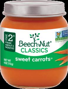 classics sweet carrots jar