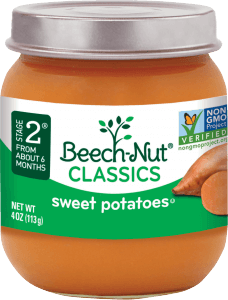 classics sweet potatoes jar